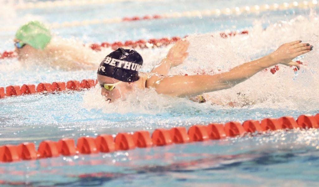 Océane Carnez natation Béthune