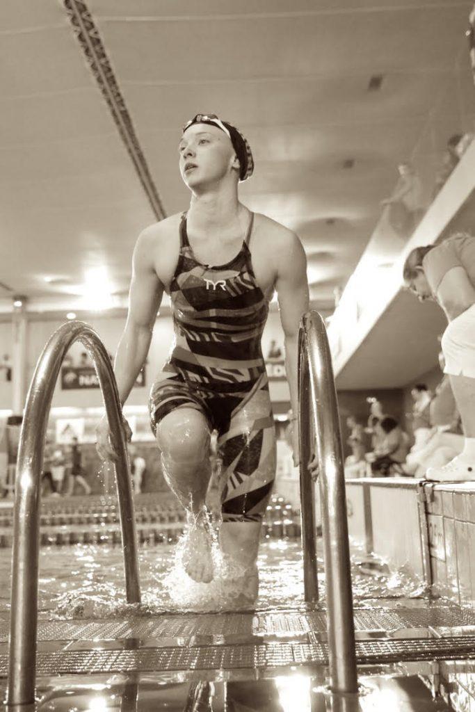 Océane Carnez, nouvelle nageuse liégeoise