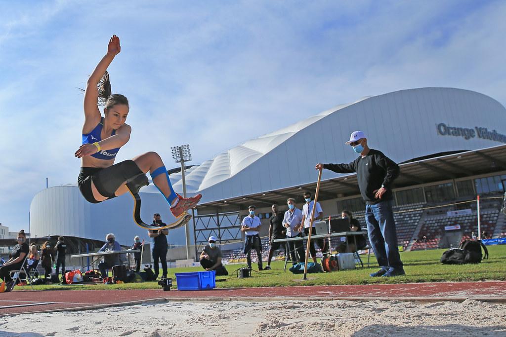 Championnats de France d'athlétisme handisport Typhaine Soldé