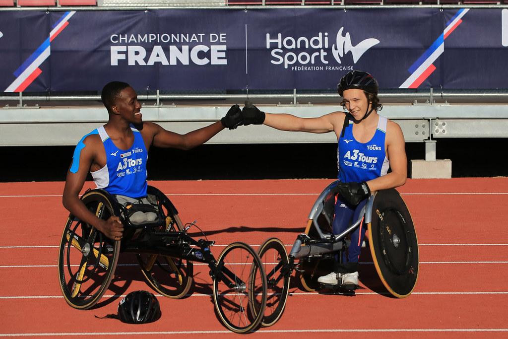 Championnats de France d'athlétisme handisport Yasser Musanganya