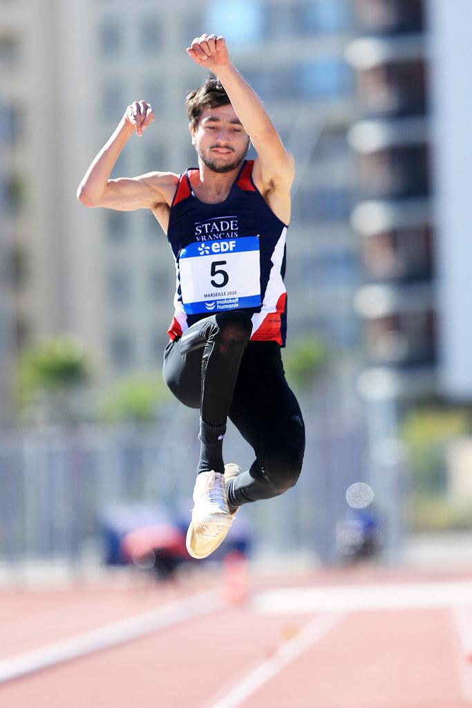 Championnats de France d'athlétisme handisport Valentin Bertrand